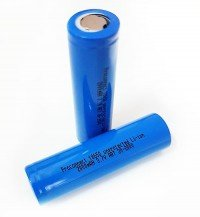 Аккумулятор 18650 unprotected Li-ion 2000 mAH, PROconnect