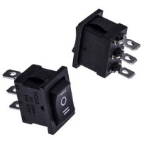 Выключатель KCD1-103-C6-B/3P ON-OFF-ON 6A/250V